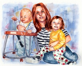 watercolor-family-portrait-painted-from-photo